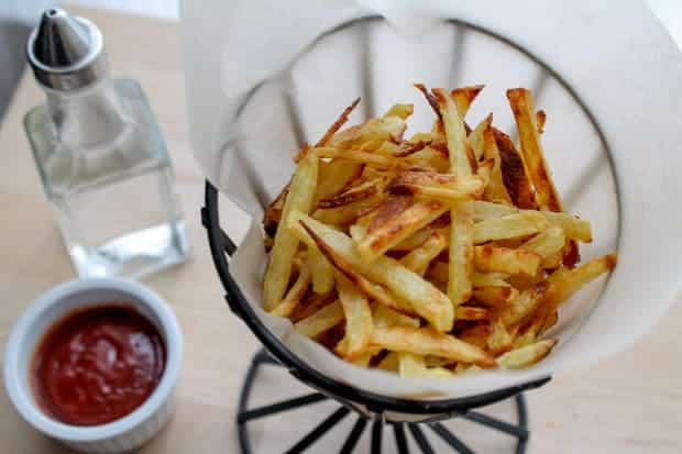 Oven Baked French Fries - Gluten Free & Vegan