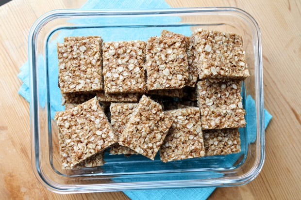 Honey-Coconut-Oat-Squares