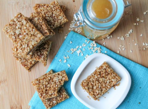 Honey-Oat-Squares