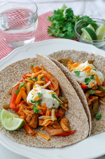 Baked Chicken Fajitas-13