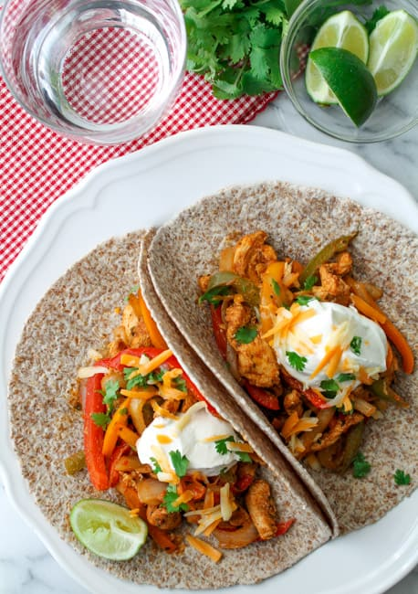 Baked Chicken Fajitas-14