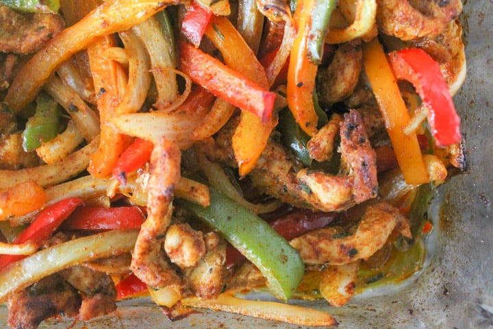 Baked Chicken Fajitas-6