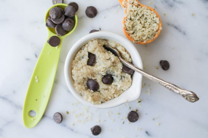 Hemp-Seed-Chocolate-Chip-Cookie-Dough-for-One-