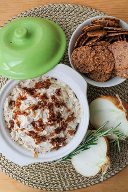 Rosemary-Caramelized-Onion-Dip-