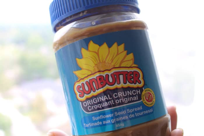 Jar of Sunbutter