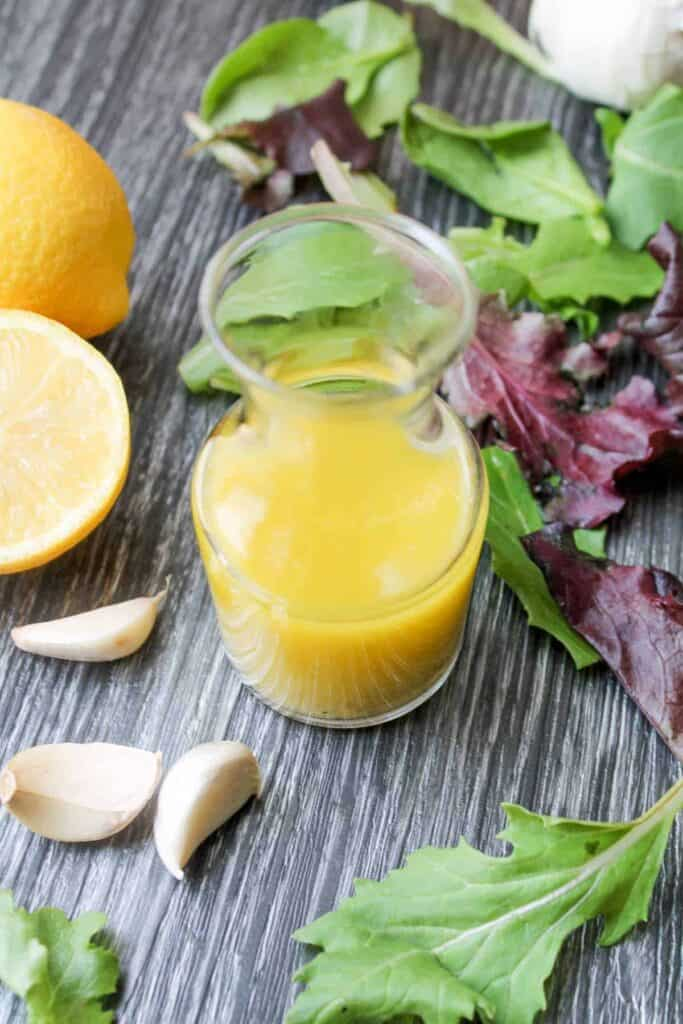Easy Lemon Garlic Dressing