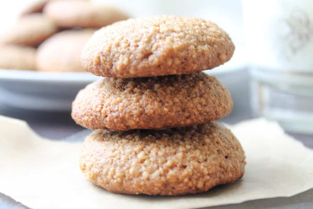 Ginger Almond Cookies