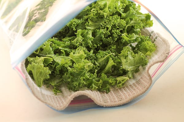 How to Wash and Store Kale